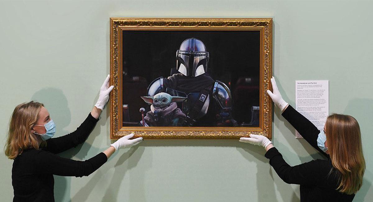 Baby Yoda ahora es una pieza de un museo británico