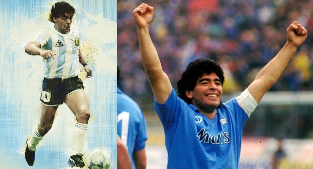 Diego Armando Maradona es reconocido como el mejor futbolista de todo los tiempos junto a Pelé. Foto: Facebook SSC Napoli/Bleacher Report Football