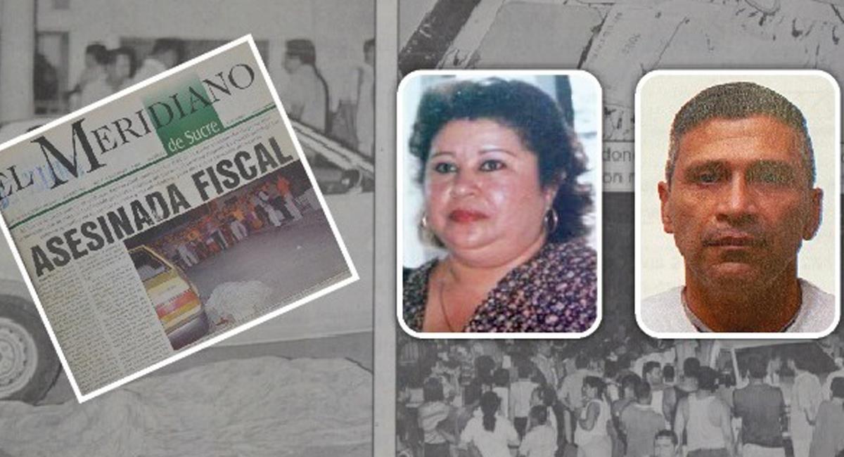 Alias Ramón Mojana, lideró el Bloque Mojana de las AUC y se le atribuye el crimen de la Fiscal Yolanda Paternina. Foto: Twitter #NoticiasHoySincelejo