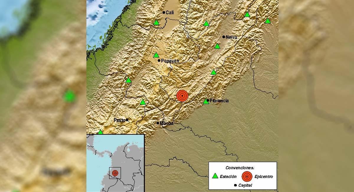 Temblor en Colombia hoy: Sismo de 4,1 grados se sintió en Palestina, Huila, este 3 de noviembre