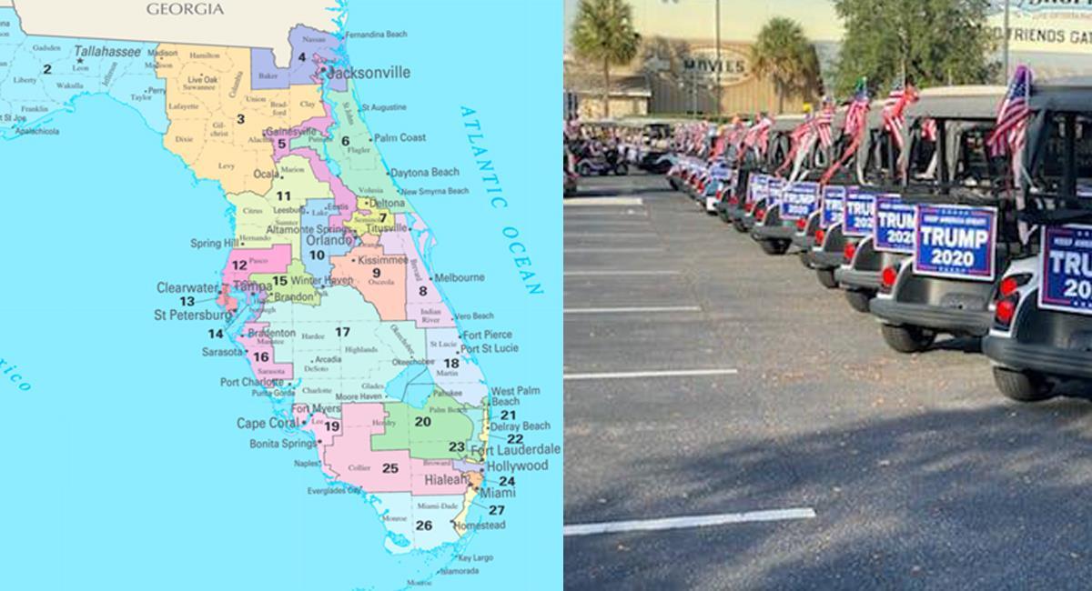 El estado de Florida fue decisivo en la pasada elección presidencial que dio el triunfo a Donald Trump. Foto: Facebook ABC Action News