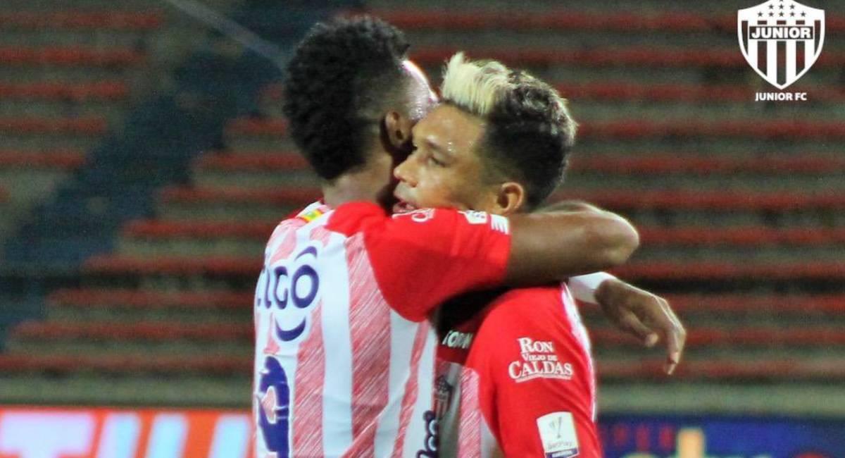 Sigue EN VIVO el partido Junior vs. Plaza Colonia por Copa Sudamericana. Foto: Twitter @JuniorClubSA