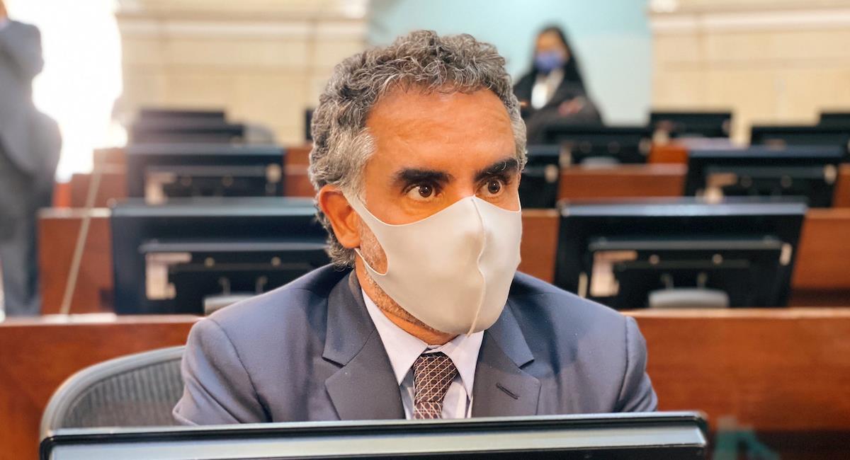 Armando Benedetti, Senador de la República. Foto: Twitter @AABenedetti