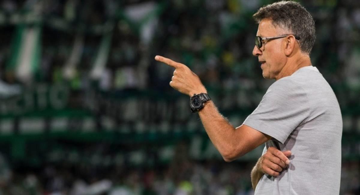 Juan Carlos Osorio dio positivo por COVID-19. Foto: Prensa Atlético Nacional
