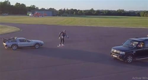 El traje real de 'Iron Man' ya hizo su primer vuelo de prueba