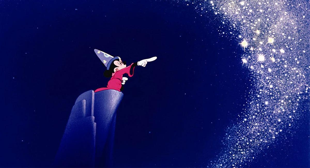 """""""Fantasía"""" es considerada una de las mejores películas de animación de la historia. Foto: Twitter @Disney"""