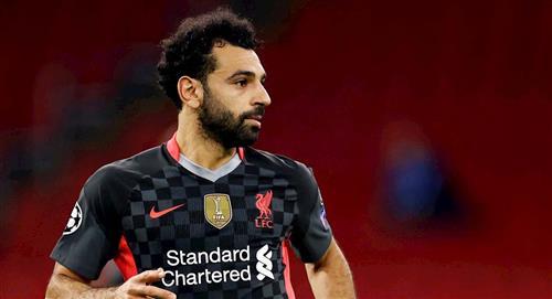 Mohamed Salah dio positivo para COVID19