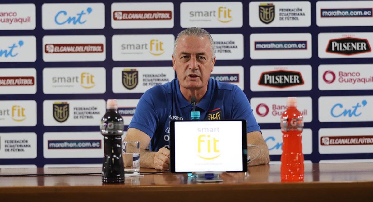 Gustavo Alfaro quiere sumar tres puntos ante Colombia para acercarse a Qatar 2022. Foto: Twitter @LaTri