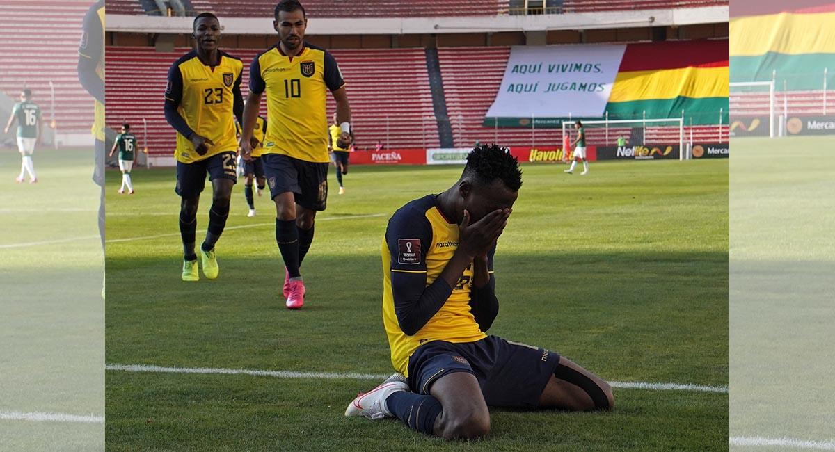 Ecuador viene de derrotar a Bolivia en la altura de La Paz. Foto: Twitter @LaTri