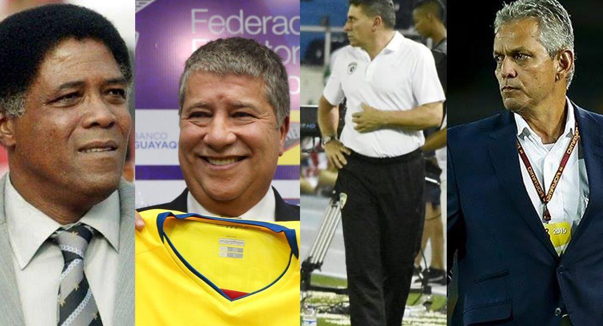 Son 4 los directores técnicos colombianos que han conducido a Ecuador en eliminatorias y campeonatos mundiales. Foto: Facebook Zona Cero