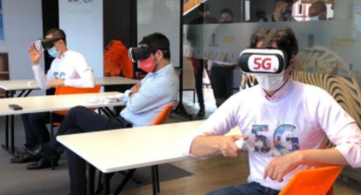 Las pruebas de la red 5G se extenderán, por 6 meses. Foto: Twitter @ClaroColombia.