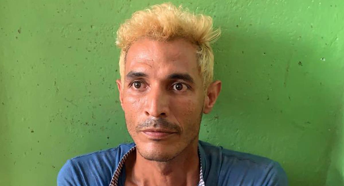 Nehomar García, presunto asesino de Oswaldo Muñoz. Foto: Twitter @AlejaUribeT_