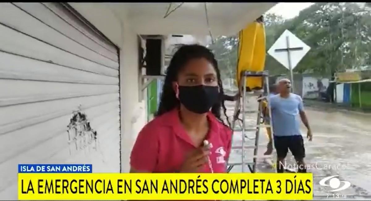 Afortunadamente sus familiares están a salvo. Foto: Twitter