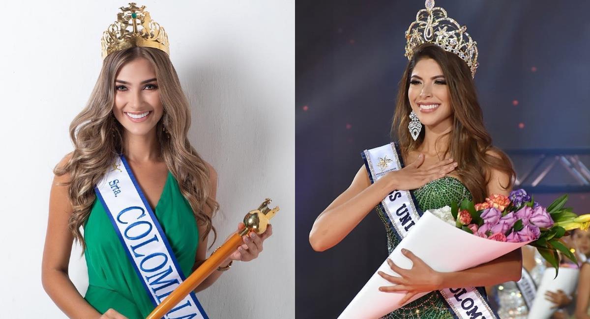 Dos Señoritas Colombia de dos concursos diferentes. Foto: Instagram @mafearistizabalu/@missuniversecolombiaorg.