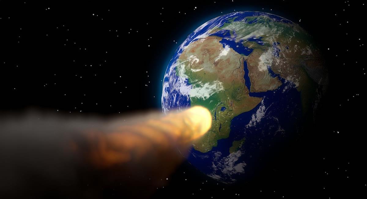 El asteroide logró rozar el anillo de la órbita terrestre baja. Foto: Pixabay