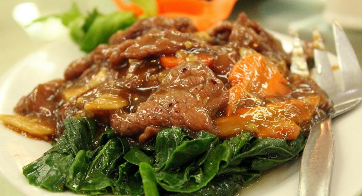 El estofado de carne, es fácil de acompañar con una arroz blanco. Foto: Pixabay