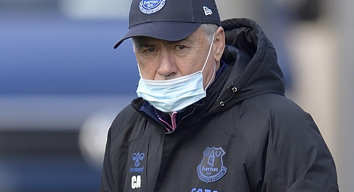 Carlo Ancelotti, técnico de Everton. Foto: Twitter @Everton