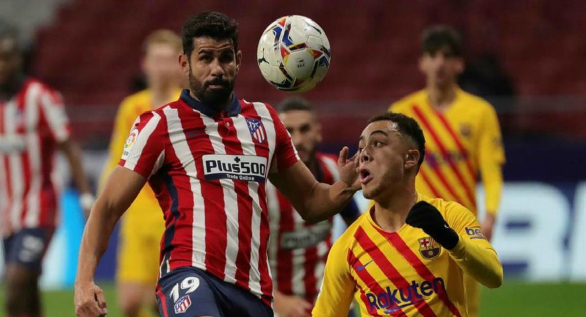 Atlético de Madrid venció a Barcelona. Foto: EFE