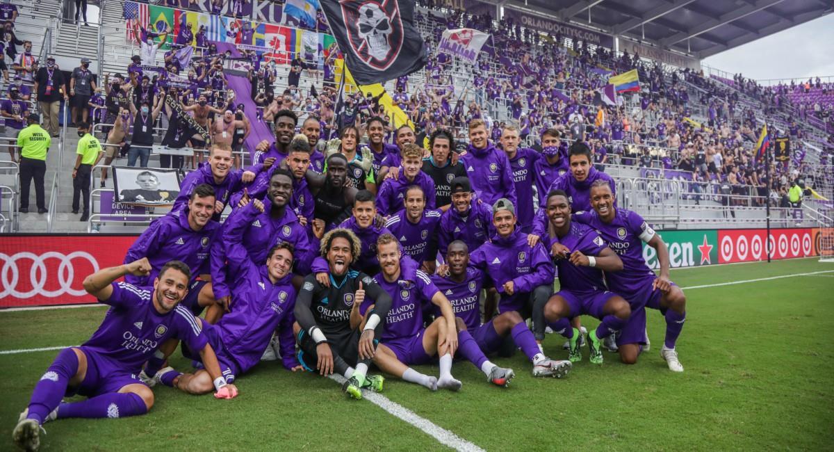 Orlando City en semifinal. Foto: Twitter Prensa redes Orlando City.