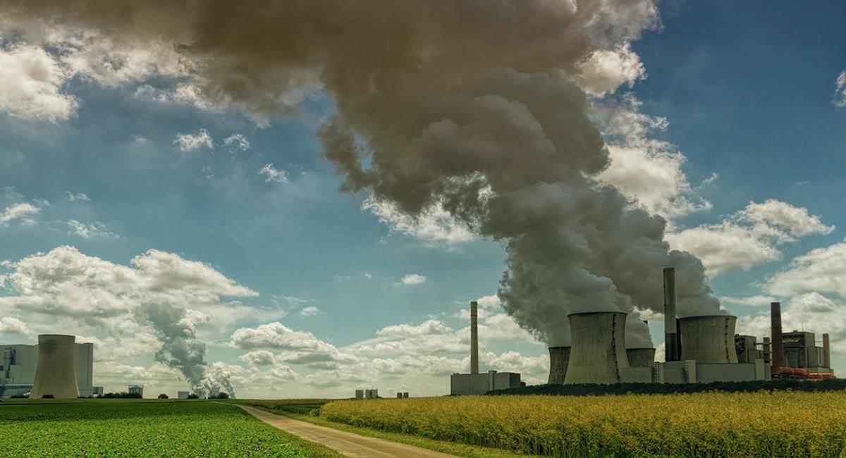 El CO2 en la atmósfera sigue en cifra récord. Foto: Twitter @NoticiasONU