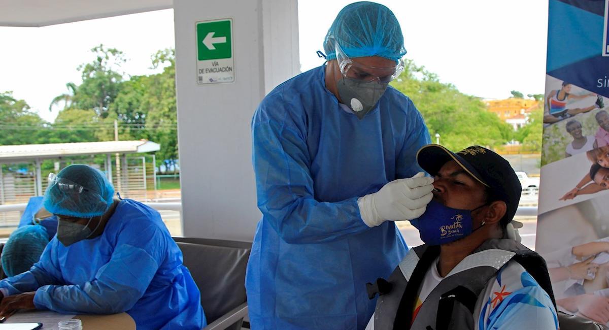 Antioquia es el departamento que más casos diarios registra. Foto: EFE