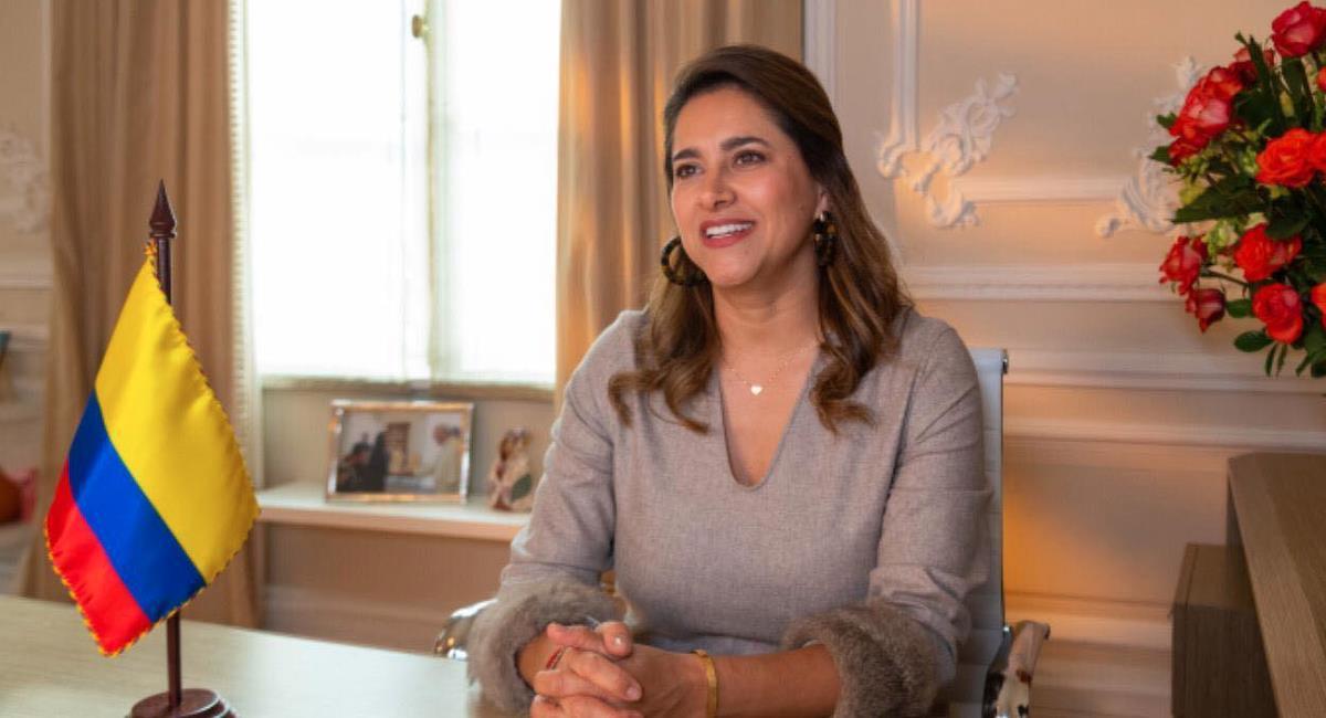 María Juliana Ruiz, primera dama de Colombia. Foto: Facebook Presidencia de Colombia