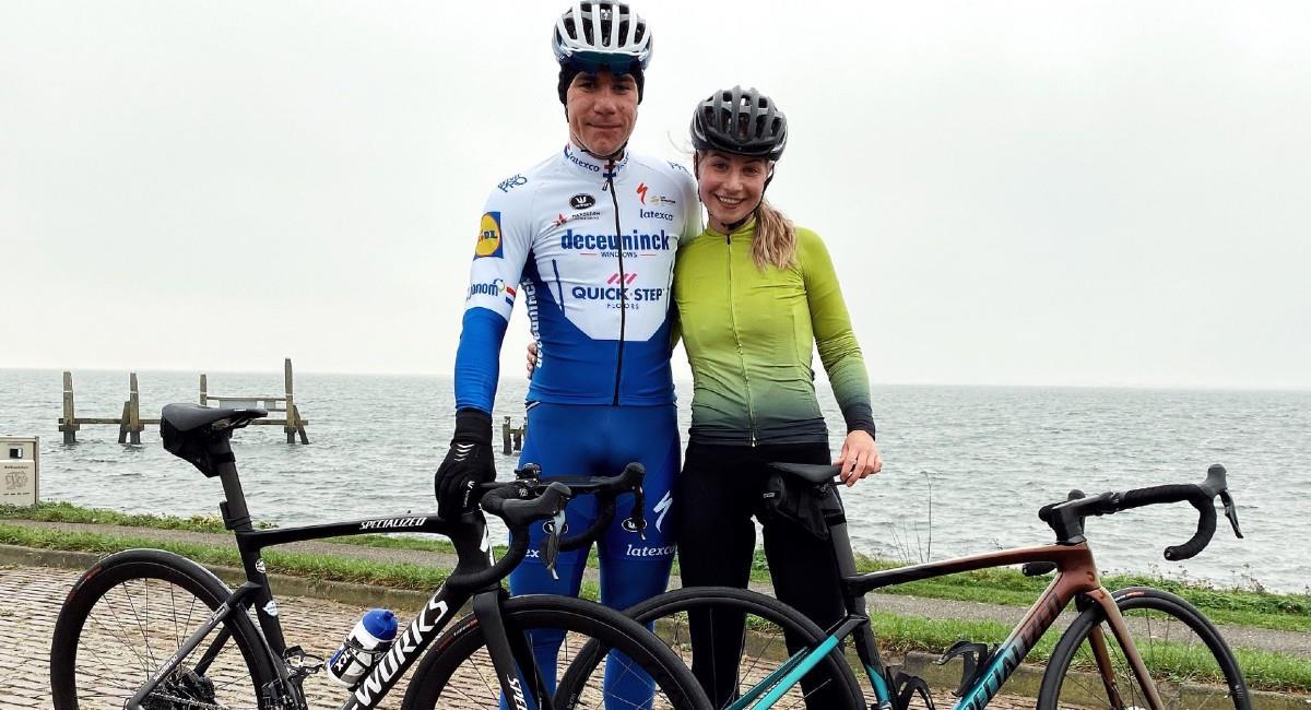 Fabio Jakobsen nuevamente montará una bicicleta. Foto: Twitter @FabioJakobsen
