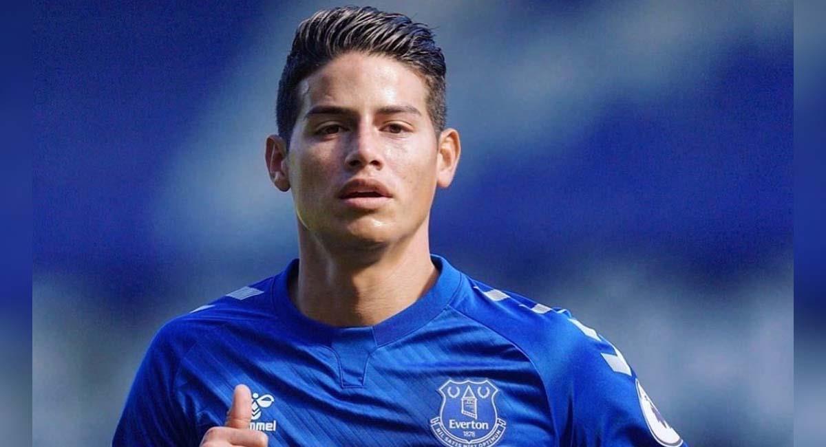 James Rodríguez es uno de los mejores futbolistas de Everton. Foto: Twitter / @jamesdrodriguez