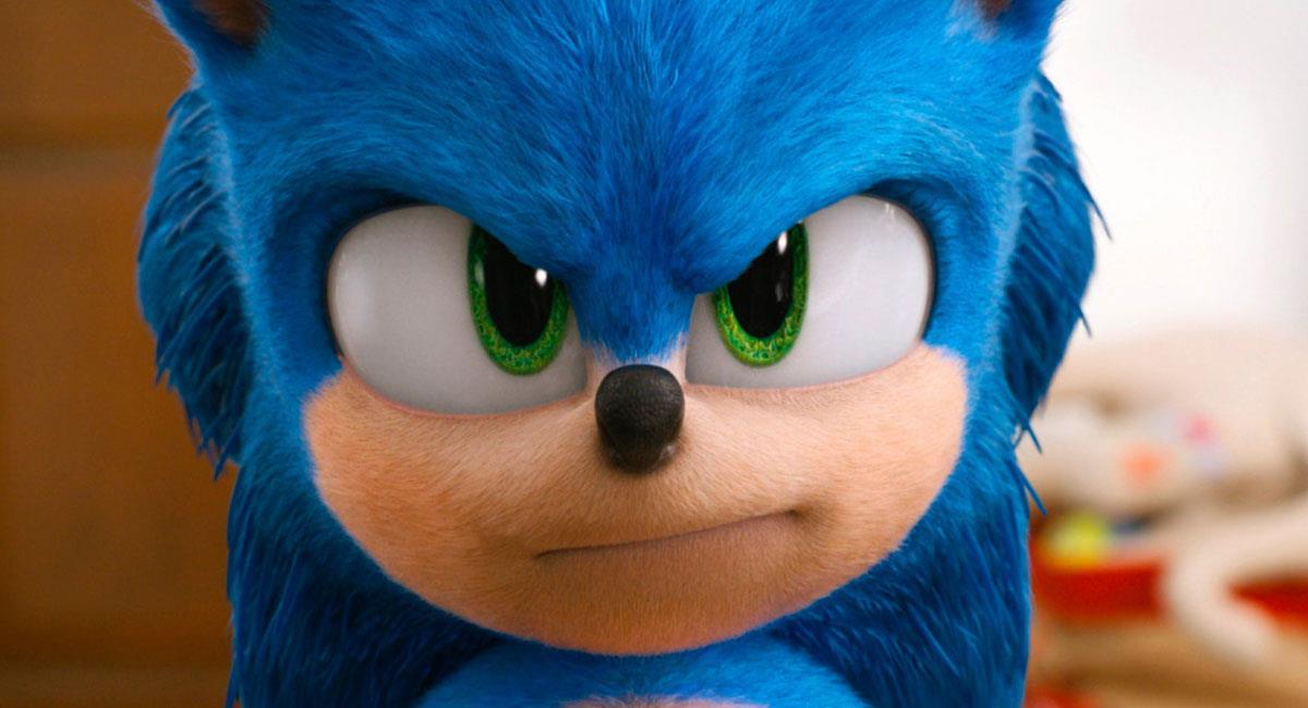 """""""Sonic"""" fue una de las últimas cintas en estrenarse antes de la pandemia del coronavirus. Foto: Twitter @SonicMovie"""