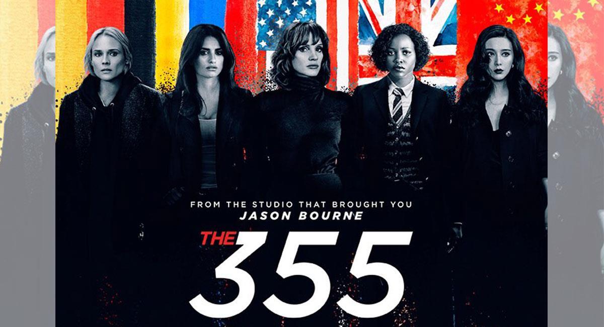 """""""The 355"""" tuvo que ser postergada por la pandemia del coronavirus. Foto: Twitter @the355movie"""