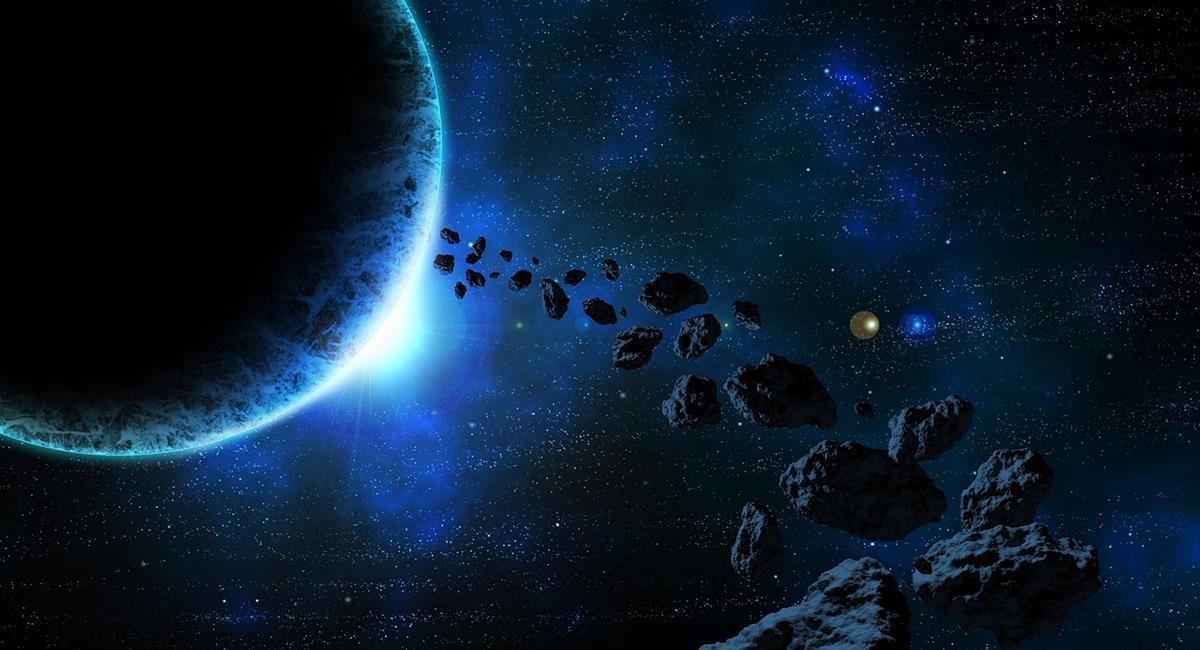 Los asteroides no tienen posibilidad de colisión según los datos de la NASA. Foto: Pixabay