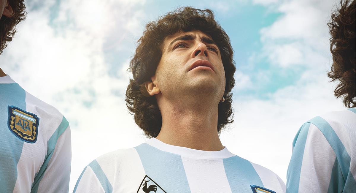 """""""Sueño Bendito"""" volverá a contar la historia de Diego Armando Maradona. Foto: Twitter @PrimeVideoLat"""