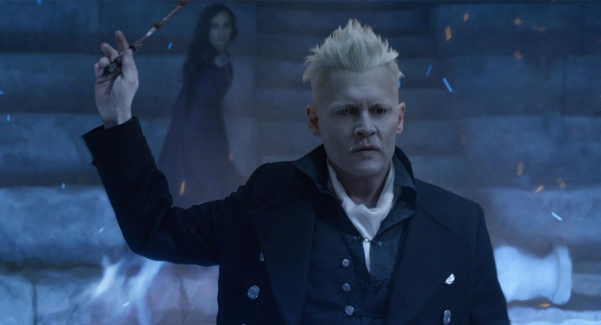 "Johnny Depp ya no regresará a interpretar a Grindewald en ""Animales Fantásticos 3"". Foto: Twitter @FantasticBeasts"