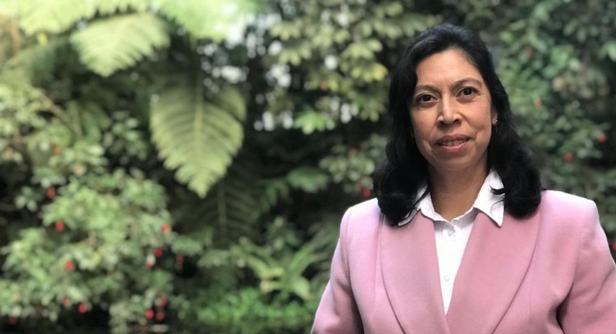 Yolanda González, directora del IDEAM. Foto: Twitter @IDEAMColombia
