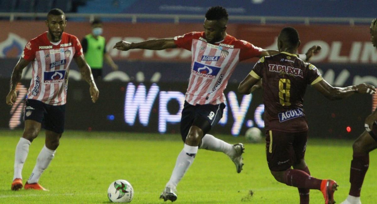 Tolima y Junior si podrían jugar en el Manuel Murillo Toro. Foto: Twitter @JuniorClubSA