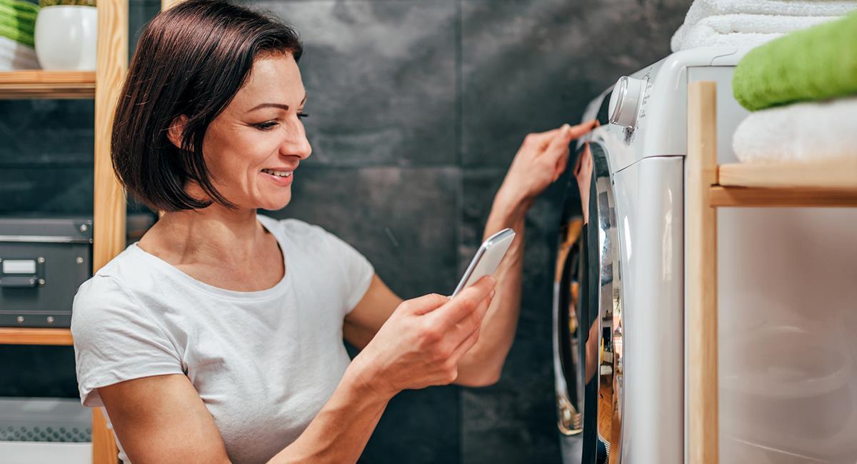 Los electrodomésticos pueden ser una opción de regalo, bastante funcional para la casa. Foto: Twitter @Samsung