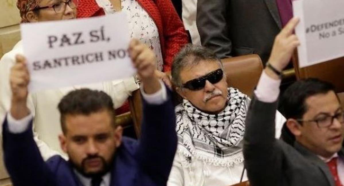 """Jesús Santrich o Sexius Pausias Hernández Solarte es considerado como uno de los líderes de la """"Nueva Marquetalia"""". Foto: Twitter @DiarioDelNorte"""