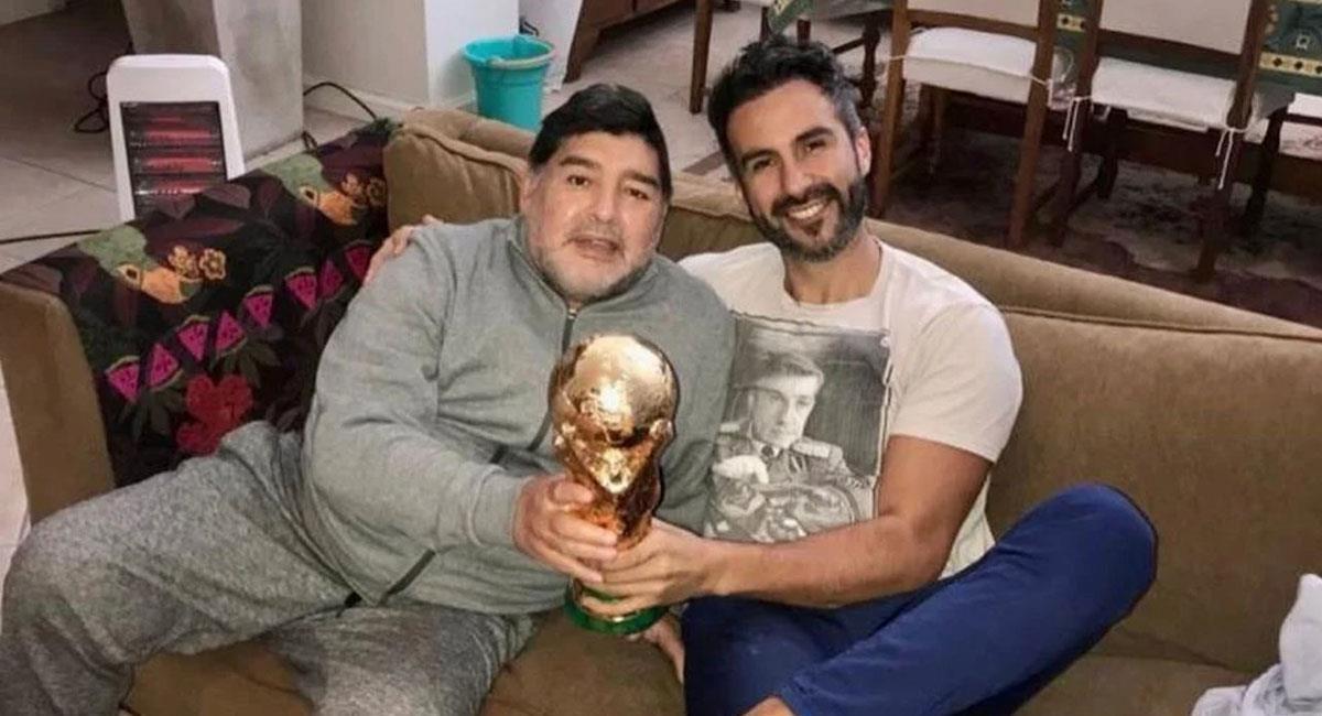 Leopoldo Luque afirmó que además del médico d Maradona, era su amigo. Foto: Instagram @doctor.luque