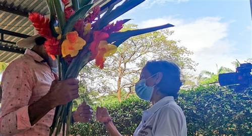Colombiano desaparecido en 1985 se reúne con su familia