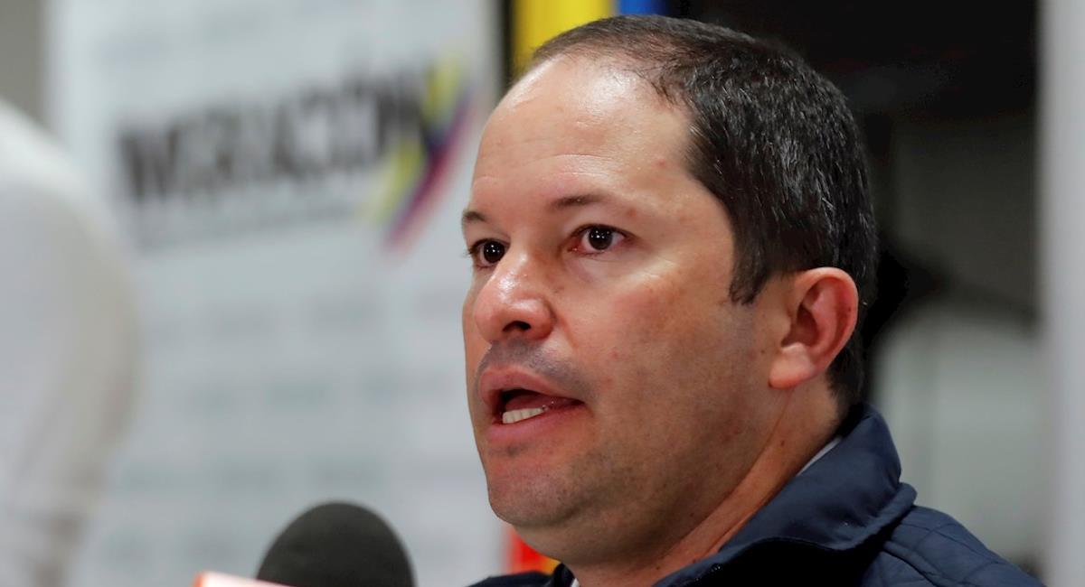 Francisco Espinosa, Director de Migración Colombia. Foto: EFE