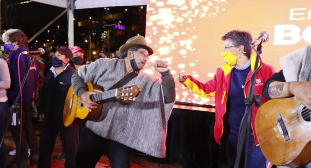 Habrá más experiencias de arte y cultura en la capital de país en la Navidad. Foto: Twitter @ClaudiaLopez