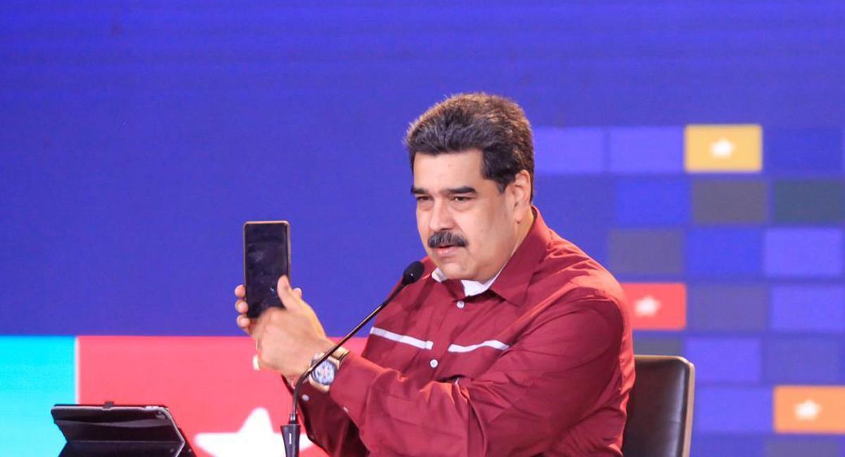 Nicolás Maduro Moros de 58 años es presidente de Venezuela desde el 19 de abril de 2013. Foto: Twitter @NicolásMaduro