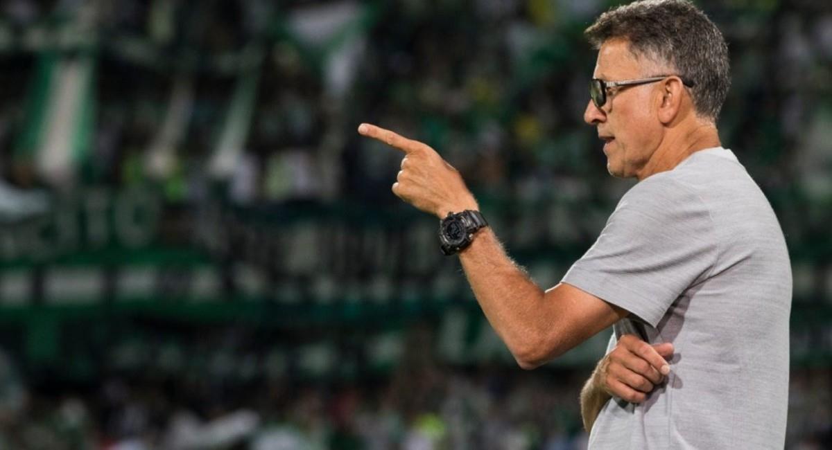 Juan Carlos Osorio es uno de los opcionados para dirigir a la Selección Colombia. Foto: Prensa Atlético Nacional
