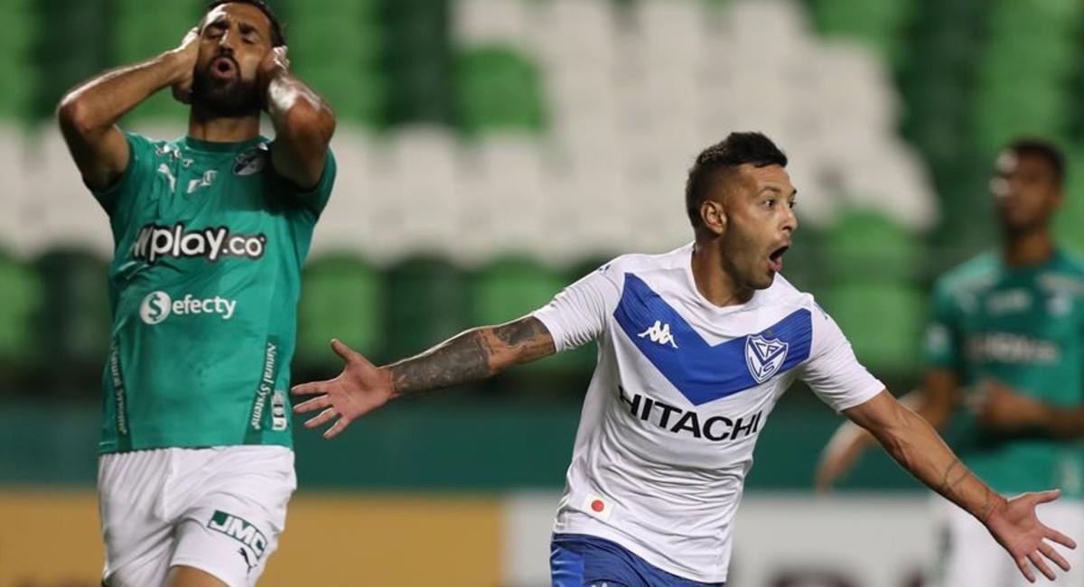 Deportivo Cali queda eliminado de la Copa Sudamericana. Foto: EFE