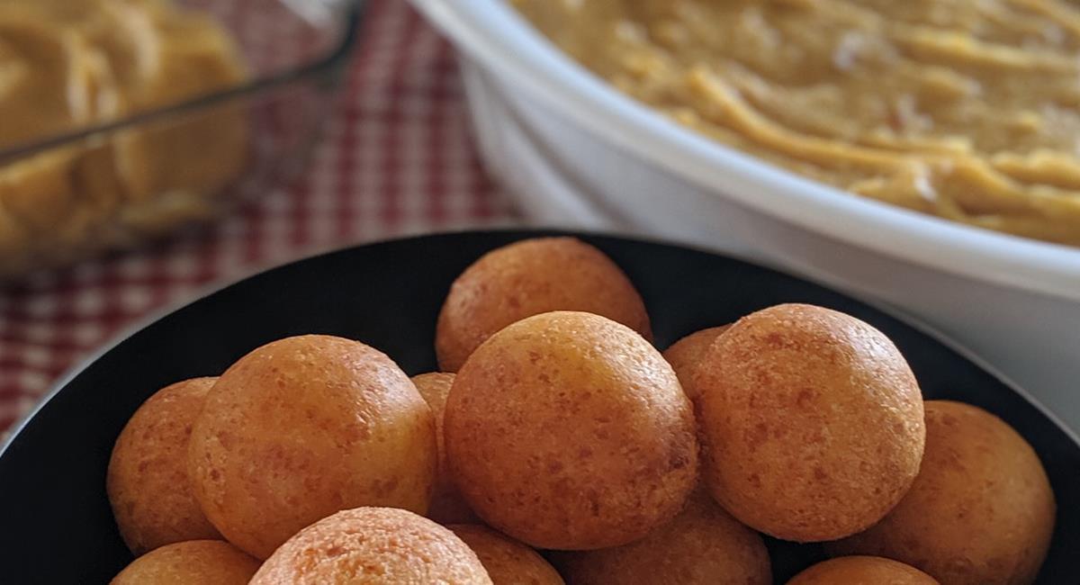 La natilla y los buñuelos son el auténtico sabor de la navidad colombiana. Foto: Facebook Jardín.Antioquia.In