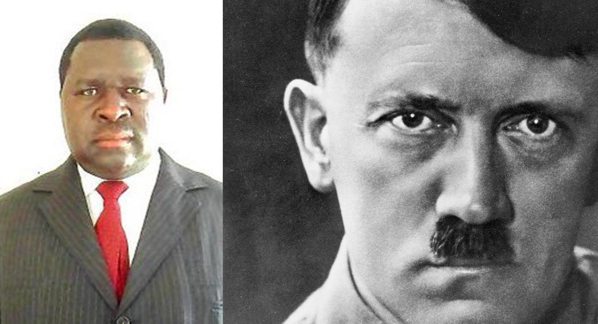 Adolf Hitler Uunona es un político de Nabimia elegido con la más alta votación en su distrito. Foto: Twitter @EagleFMNam /facebook Cooperativa