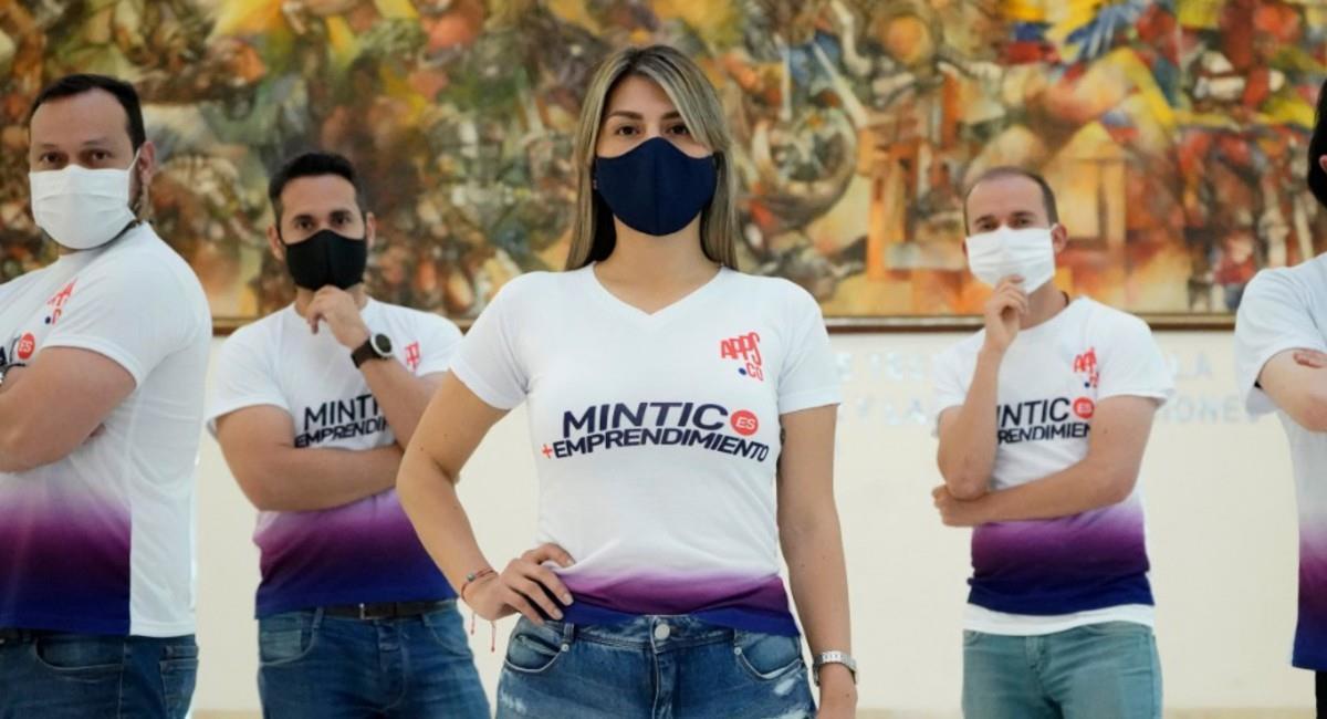 Los emprendedores en Colombia pueden ser apoyados por el Gobierno de esta forma. Foto: Prensa MinTic