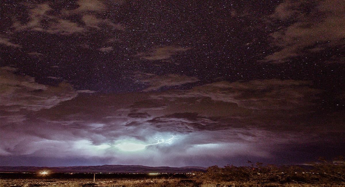La actividad de la Lluvia de Estrellas puede visualizarse en línea. Foto: Pexels
