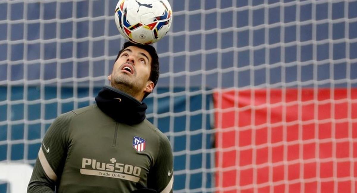 Luis Suárez fichó por Atlético de Madrid. Foto: EFE