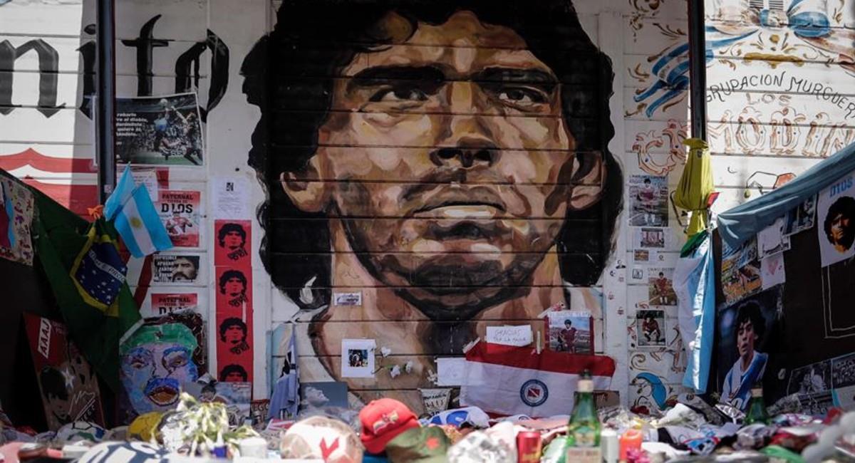 Los tesoros de Maradona que están guardados en un container